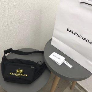 BALENCIAGA COTTON FANNY PACK<br> 발렌시아가 코튼 패니 팩