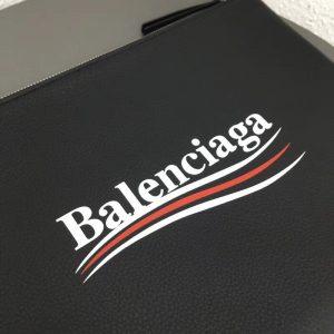 BALENCIAGA LOGO CLUTCH<br> 발렌시아가 로고 클러치