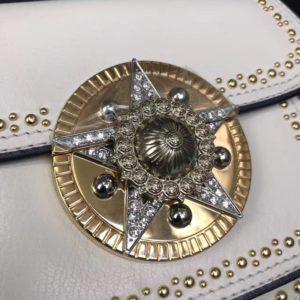 MIUMIU STAR BUKLE SHOULDER BAG<br>미우미우 스타 버클 숄더 백<br>[19x15x8cm]