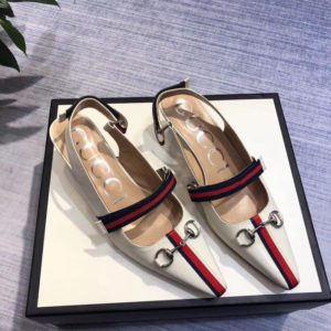 GUCCI MID HILL SANDLE<br>구찌 미드힐 샌들<br><i>38-40 SIZE</i>
