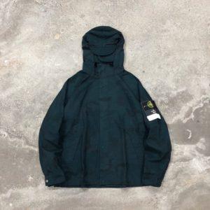 Stone Island x Supreme Riot mask camo jacket 스톤 아일랜드 X 슈프림 마스크 카모 자켓