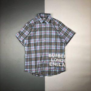 BURBERRY 2020 SHORT SHIRT 버버리 2020 셔츠
