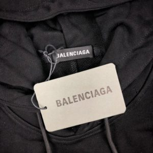 BALENCIAGA 2020 SHORT HOOD 발렌시아가 2020 민소매 후디