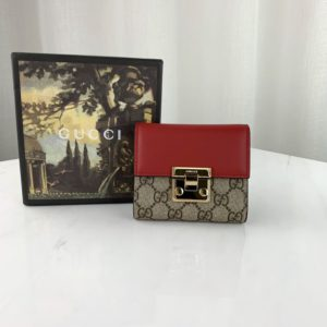 GUCCI PADLOCK WALLET 구찌 패드락 지갑