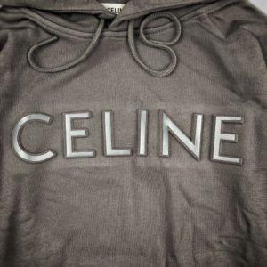 Celine 셀린느 3D Logo 후드티