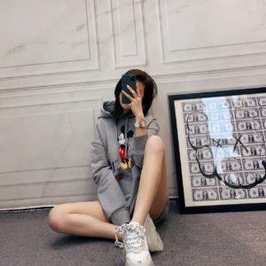 [GUCCI] 구찌 디즈니 후드 스웨트 셔츠 Disney x Gucci hooded sweatshirt