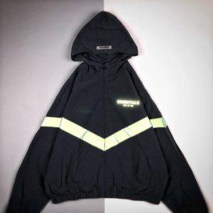 [FEAR OF GOD] 피어오브갓 FOG 에센셜 3M 반사필름 리플렉티브 바람막이 자켓