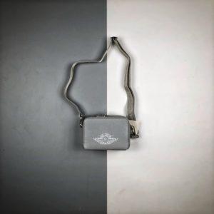 [DIOR x NIKE] 디올 x 에어 조던 메신저백 그레이 Dior x Jordan Wings Messenger Bag Gray