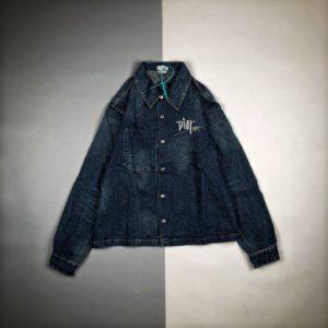 [DIOR x STUSSY] 디올 x 스투시 셔츠 데님 재킷