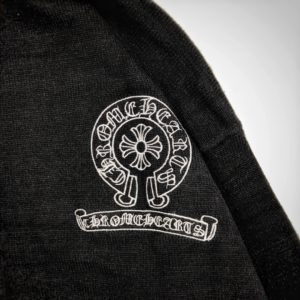[CHROME HEARTS] 크롬하츠 20FW 가죽 라벨 스탠다드 터틀넥 스웨터