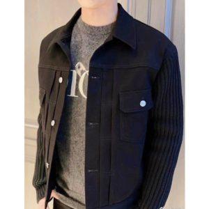 [DIOR] 디올 20SS Clip&Pin 스웨터 슬리브 코튼 재킷