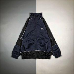 [BALENCIAGA] 발렌시아가 20FW 배색 잠금 인쇄 긴팔 재킷