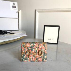 [GUCCI] 구찌 홀스 빗 1955 리버티 런던 카드 케이스 Gucci Horsebit 1955 Liberty London card case