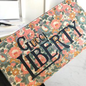[GUCCI] 구찌 리버티 플로럴 지퍼 지갑 Gucci Liberty Floral Zipped Wallet