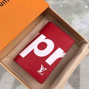 [SUPREME X LOUIS VUITTON] 슈프림 x 루이비통 카드 지갑 M61822