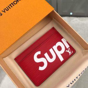 [SUPREME X LOUIS VUITTON] 슈프림 x 루이비통 카드 지갑 M60703