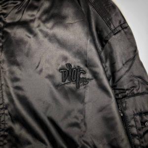 [DIOR] DIOR AND SHAWN 봄버 재킷 라이트 블루 테크니컬 새틴 트윌