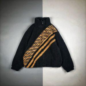 [FENDI] 펜디 20FW 리틀 몬스터 램 울 코트