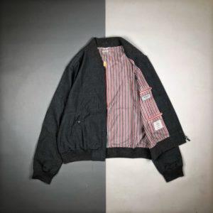 [THOM BROWNE] 톰브라운 TB 20FW 울 야구 재킷