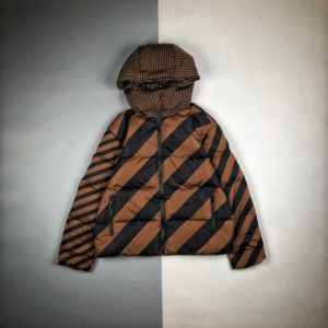 [FENDI] 펜디 20FW 리틀 몬스터 양면 인쇄 패딩 다운 재킷