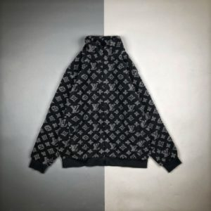 [LOUIS VUITTON] 루이비통 자카드 울 플리스 재킷