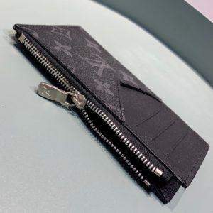 [LOUIS VUITTON] 루이비통 코인 카드 홀더 모노그램 이클립스 타이가 Coin Card Holder Monogram Eclipse Taiga