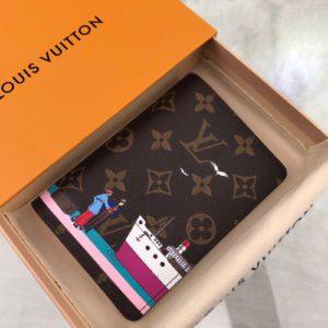 [LOUIS VUITTON] 루이비통 여권 커버 Louis Vuitton Passport Cover M62144 Monogram Canvas