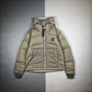 [STONE ISLAND] 스톤아일랜드 20FW 메탈 실크 다운 패딩 재킷