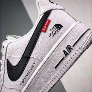 [NIKE] 슈프림 X 노스페이스 X 나이키 에어 포스 1 로우 Supreme x The North Face x Nike Air Force 1 Low AR3066-100