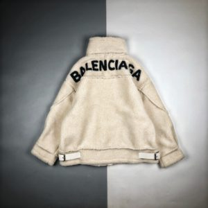 [BALENCIAGA] 발렌시아가 20FW 램 헤어 스웨이드 재킷