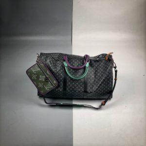 [LOUIS VUITTON] 루이비통 버질아블로 키폴백 Virgil Abloh X Louis Vuitton Keepall BANDOULIERE