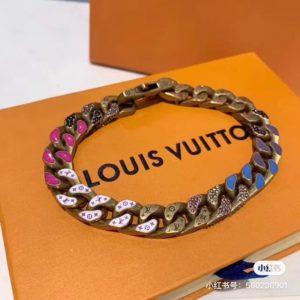 LOUIS VUITTON 루이비통 Chain Links Patches 모노그램 체인 팔찌