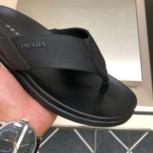 [PRADA] 프라다 가죽 클래식 슬리퍼