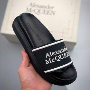 [ALEXNADER MCQUEEN] 알렉산더 맥퀸 로고 슬리퍼