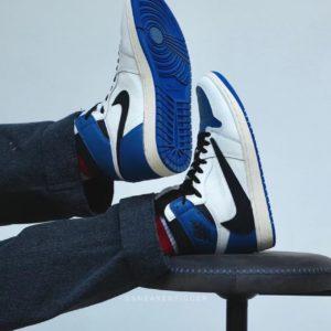 [NIKE] Fragment x Travis Scott x 나이키 에어조던 1 Air Jordan 1 High