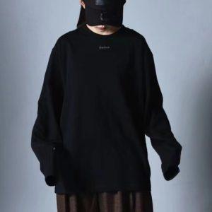 [Y-3] 요지 야마모토 21FW 라운드넥 긴소매 스웻셔츠