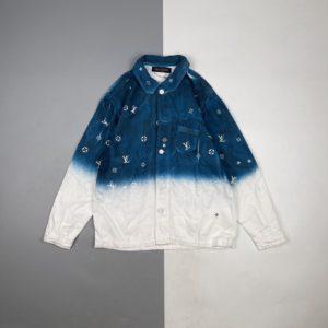 [LOUIS VUITTON] 루이비통 21Fw starry sky 스플래쉬 잉크 데님 재킷