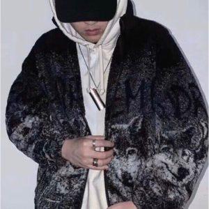 [Supreme] 슈프림 울프 토템 폴라 플리스 재킷 후리스
