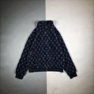 [LOUIS VUITTON] 루이비통 로고 자카드 양털 플리스