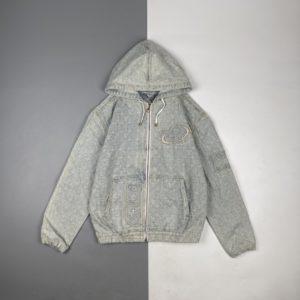 [Louis Vuitton] LV & Nba 조인트 21Fw 모노그램 후드데님 자켓