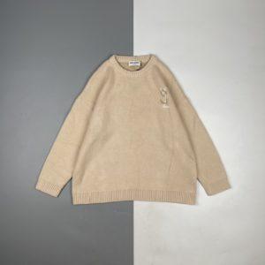 [YSL] 입생로랑 Saint Laurent 21Fw 로고 자카드 니트 크루넥 스웨터