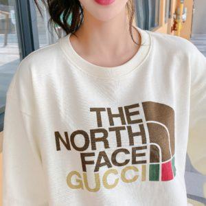 [GUCCI x THE NORTH FACE] 구찌 x 노스페이스 21FW 라운드넥 맨투맨 티셔츠